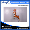 Hot Sale Christmas Decoration Funny Reindeer Hanging