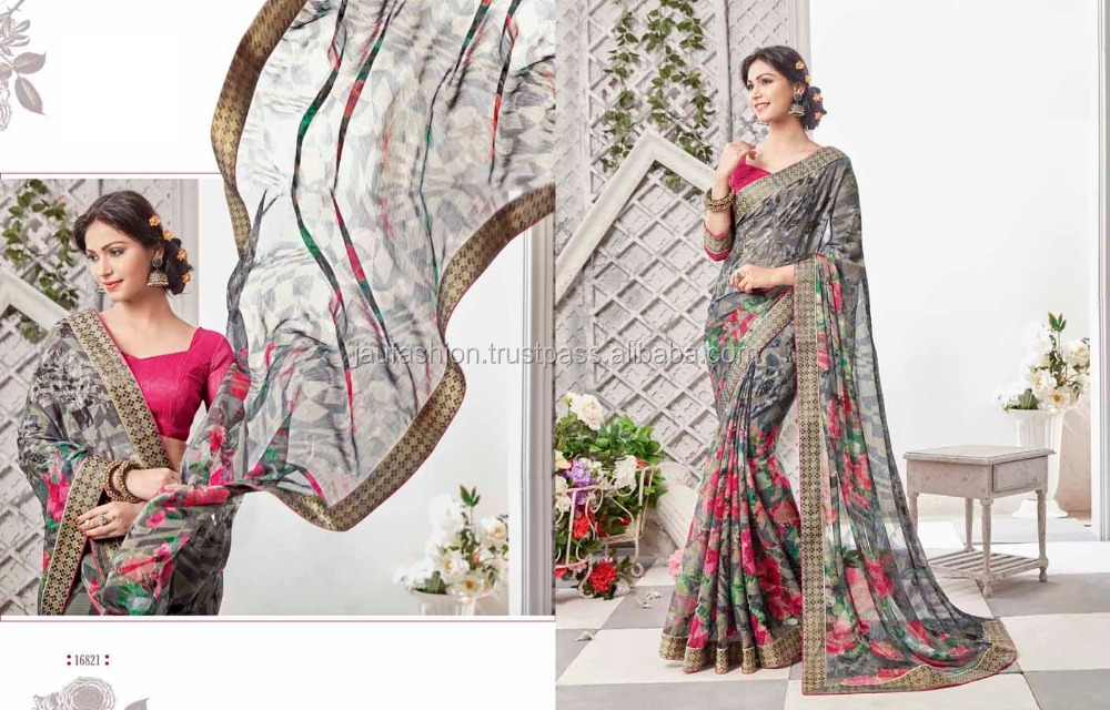 Indian sari 2017 / Indian sari dress / Indian Sari Supplier