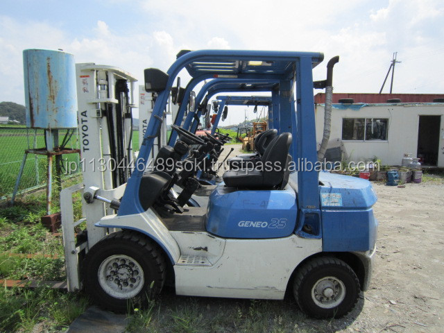 USED FORKLIFT TOYOTA 7FD25