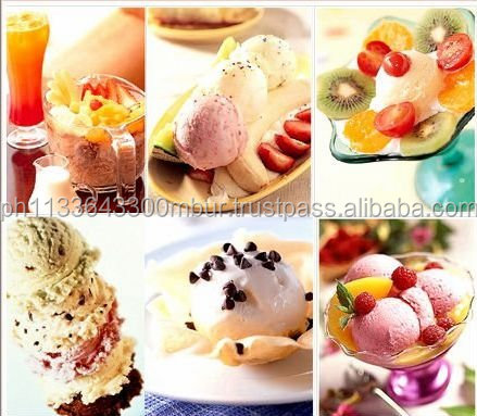 Hard Ice Cream Powder, Strawberry, Vanilla, Mango, Chocolate, Melon, etc