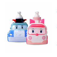 Robocar Poli and Amber Herb Medicinal Shampoo 360ml - made in korea cartoon character products