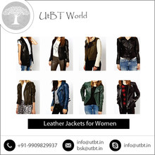 Classy Look Cow Hide Leather Jacket Women for All Seasons