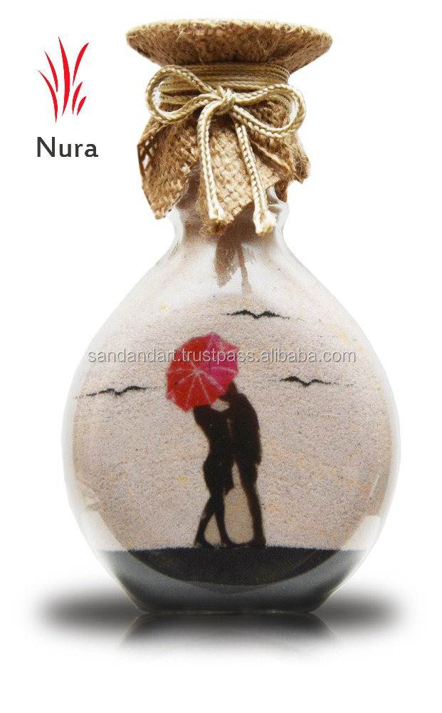Nura Sand Bottle Promotional Gift Giveaway Ideas Wedding Gift for Wedding Giveaway Gift