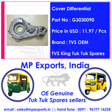 Tvs King Cover Differential tuk tuk Spares