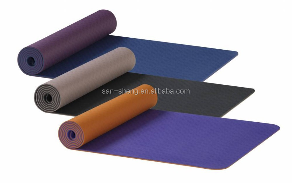 Eco HIGH QUALITY Friendly anti-slip yoga mat material NBR / TPE