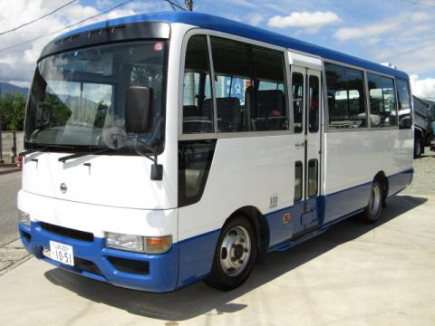 Used RHD Nissan Civilian bus 29 2005