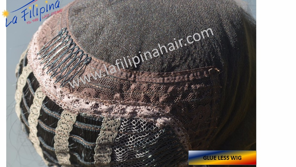 Authentic Filipino hair 100% human hair glueless wigs