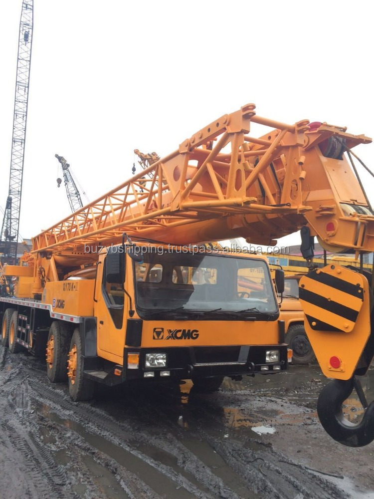 Used crane, used XCMG truck crane 70ton, secondhand 70ton XCMG wheel crane for sale!