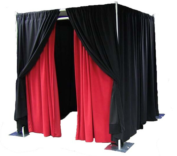 aluminum pipe drape kits portable pipe and drape for wedding event trade show photo booth