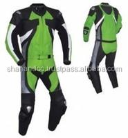 Cowhide Leather men women and kids Motorbike Suit