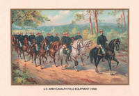 U.S. Army Cavalry Field Equipment, 1899 20x30 poster