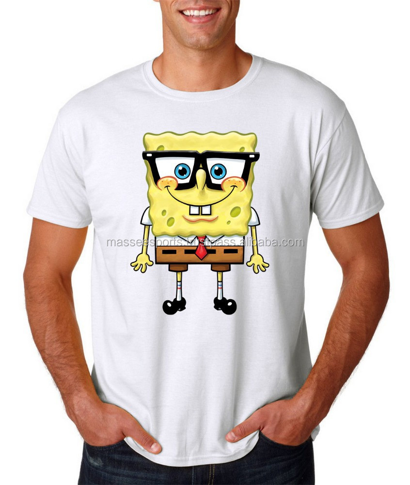 summer wear screen printing tshirt 100% cotton men