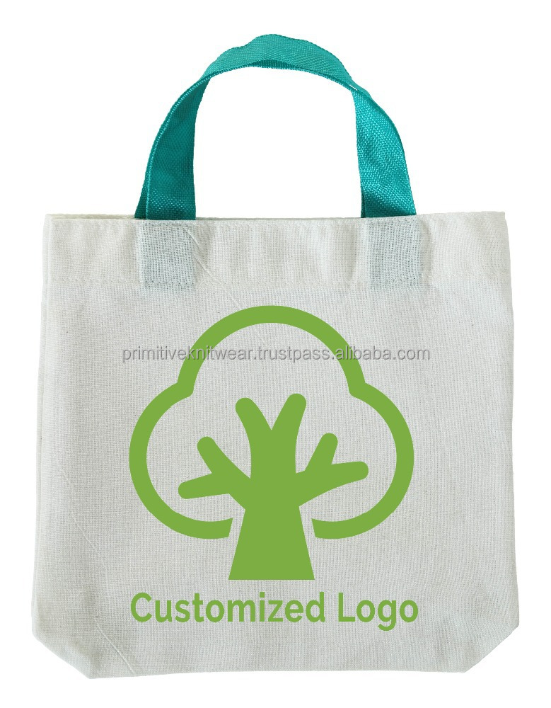 Natural Cotton Shop Handle Bag