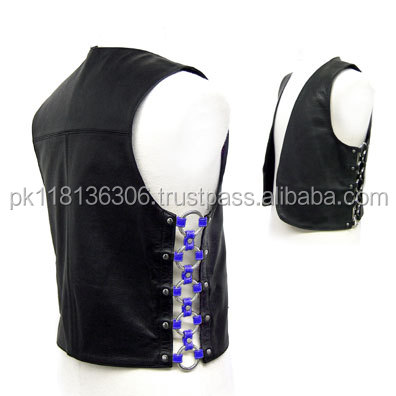 Fashion Leader provide superior quality patch leather vest
