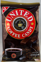United Coffee Candy 50 Count 125g Made in Thailand