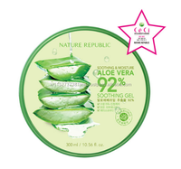 Korea Cosmetics Nature Republic SOOTHING & MOISTURE ALOE VERA 92% SOOTHING GEL