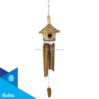 Popular Home Bird Hanging Bamboo Wind Chime Low Price Sound Tuned