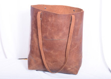 Latest Style and design Genuine brown Leather Handbag