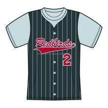 Custom Sublimated Half Sleeves O-Neck Baseball Jersey/T-Shirt made of Moisture Wicking Cool Polyester fabric