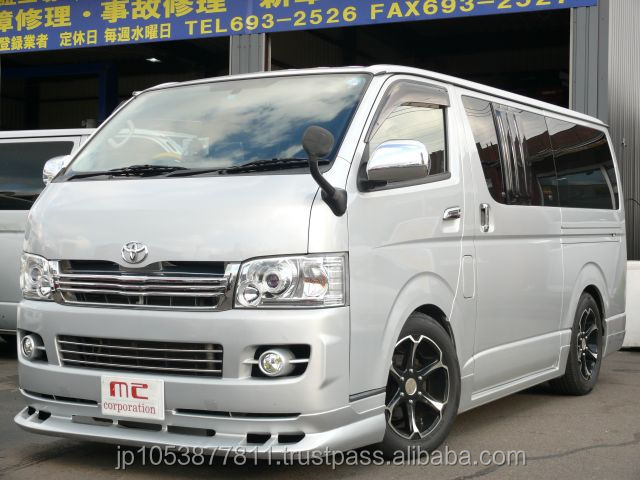 Popular and Right hand drive used japanese toyota hiace used HIACE super GL 2004