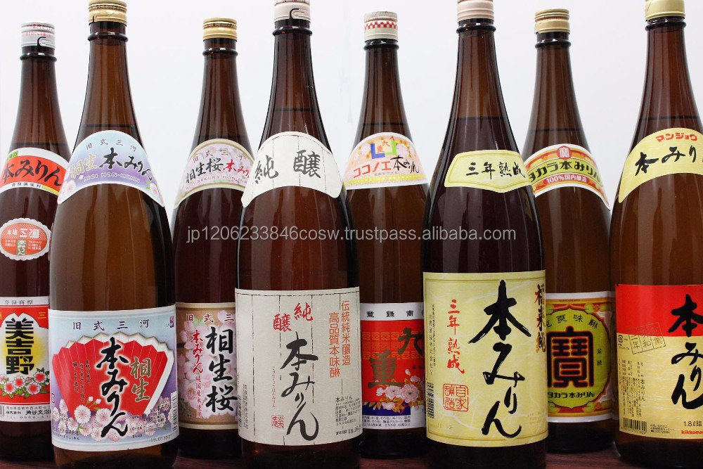 Various brands of soy sauce food seasoning , mirin also available