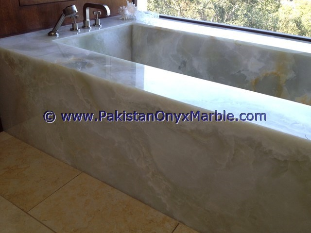MODERN SOLID SURFACE FREE STANDING ONYX BATHTUBS