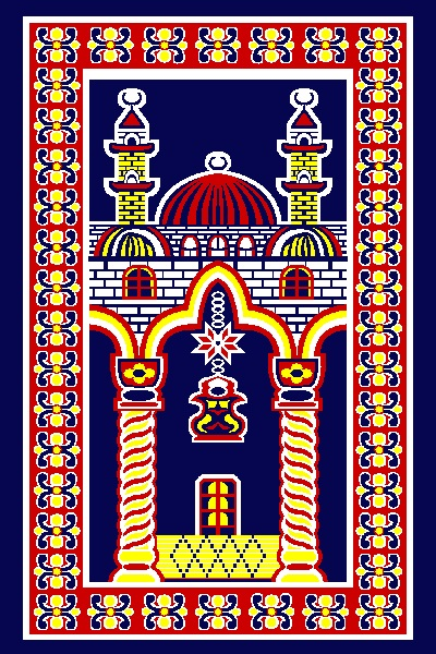 Travel Traditional Muslim Modern Prayer Rug