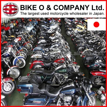 Various types of trustworthy used Honda motorcycles for sale at reasonable price