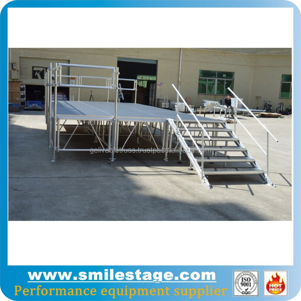 Used portable staging stage lighting equipment