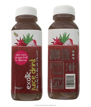 100% Dragon Fresh and Natural Fruit Juice Tasty to drink
