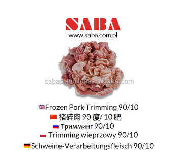 Frozen Pork Trimming 90/10 | Pork lean meat from Poland