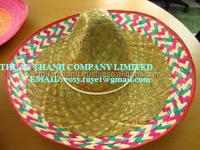 Wholesale Custom Design Mexico Wide Brim Straw Hat