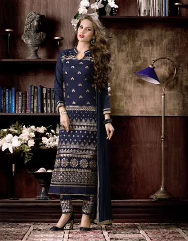 Heavy Embroidered Salwar Suits