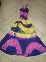 COTTON TIE DYE LADIES DRESS PACK OF 50 PCS