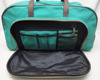 Canvas Duffel - Weekender Bag with Leather trims shoe compartment