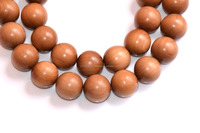 genuine chinese religious bead necklace/sandal wood crafts/malas