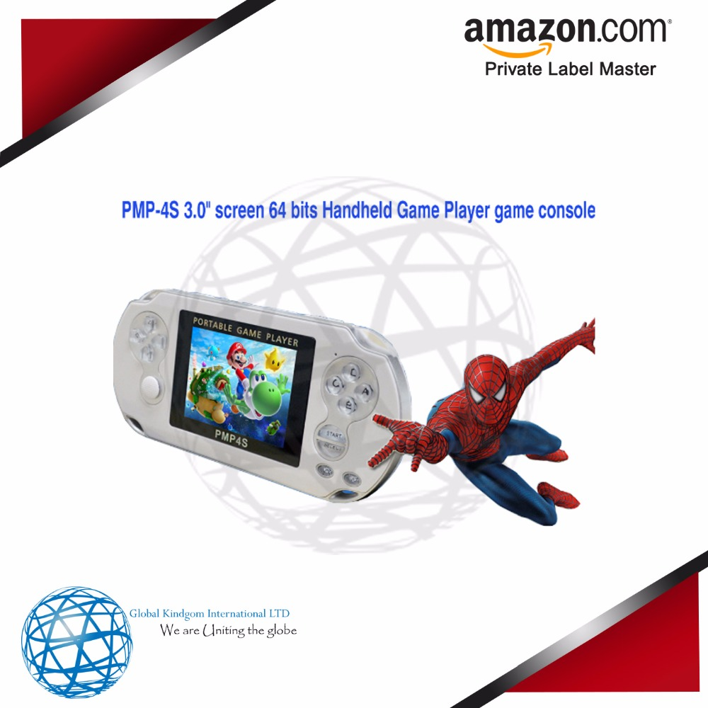 "PMP-4S 3.0"" screen 64 bits Handheld Game Player game console"