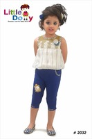 Kids Party Wear New Fashion Dresses For Girls Top And Pand