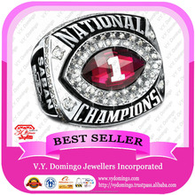 Jewelry Factory baseball Youth Fans Ring 2012 Alabama Crimson Tide Championship Ring