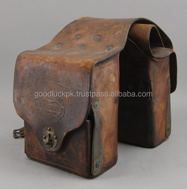 leather saddle bag - Black Motorcycle Panniers Saddle Bags Tour Faux Leather Motorbike Luggage