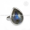 Celebrated 925 Sterling Silver Labradorite Ring Wholesaler Silver Jewellery Manufacturer India
