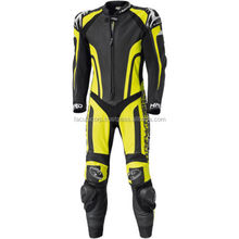 Yellow Motorcycle Motorbike Leather Race Suit FC-11352