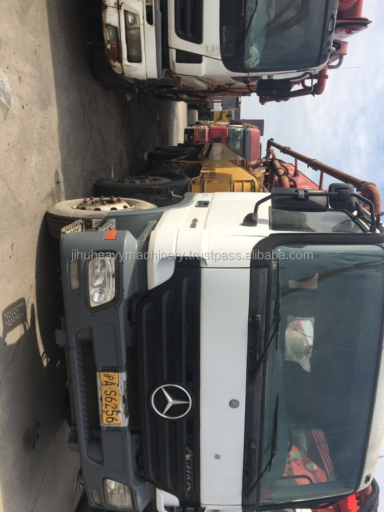 45m putzmeister concrete pump good price (8x4 Mercedes-Benz)