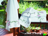 Tip towel high quality 100% linen with embroidery- no 7
