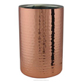 Copper coated wine cooler
