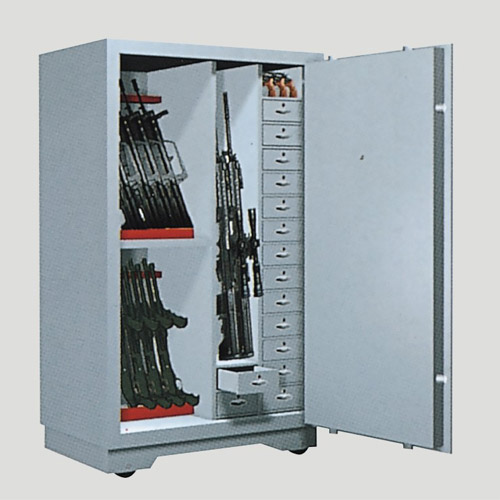 GUN VAULT BULLET SAFE STORAGE GUN SECURITY LOCKER WEAPON SAFE LOCK