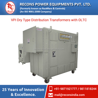 VPI Dry Type Copper Wounded Distribution Transformer Having Capacity Up to 3000 KVA Available for Industrial Use