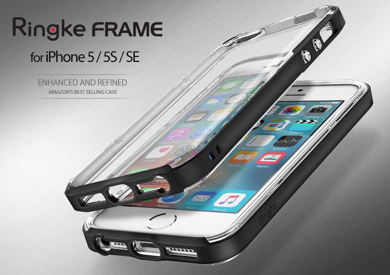 [Ringke] Ringke Frame Smart Phone Case For iPhone SE