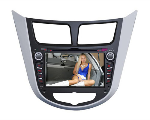 Android Quad core Car DVD player GPS navigetion Hyundai accent 2011-2013