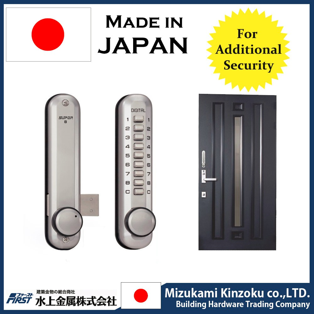 LOOKING FOR PARTNER IN POLAND DIGITAL DOOR LOCK MADE IN JAPAN WITH RESETABLE PASS WORD AND EASY TO INSTALL .